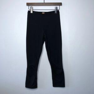 ARCTERYX Cropped Leggings Base Layer Pants Black